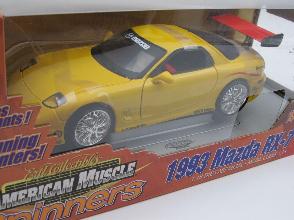 Modelbil, 1993 Mazda RX-7 Spinners , skala 1:18