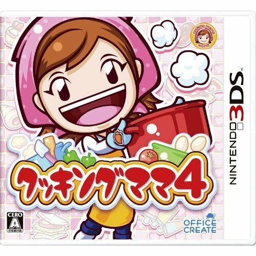 Very Good 3DS Cooking Cooking Cooking Mama 4 Import Japan 7665ab