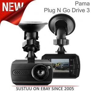 Plug-N-Go-Drive-3-In-Car-HD-Dash-Camera-1-5-034-Screen-Driving-Recording-G-Sensor