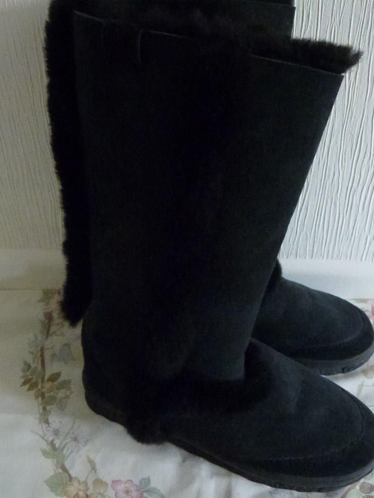 EMU ECHDNA BOOTS SIZE 5 UK BLACK