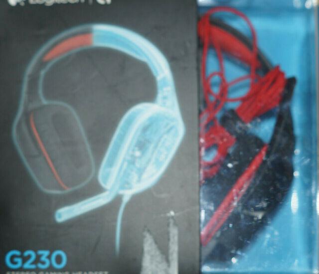 Logitech G230 Schwarz Kopfbügel Headset für PC