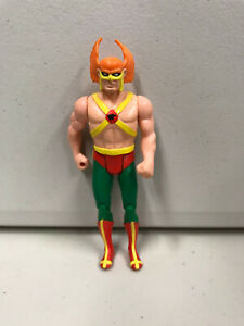 1986 SUPER POWERS FIGURE vintage Kenner action figurine super hero toy Dc universe comics justice league Hawkman Hawk man with wings
