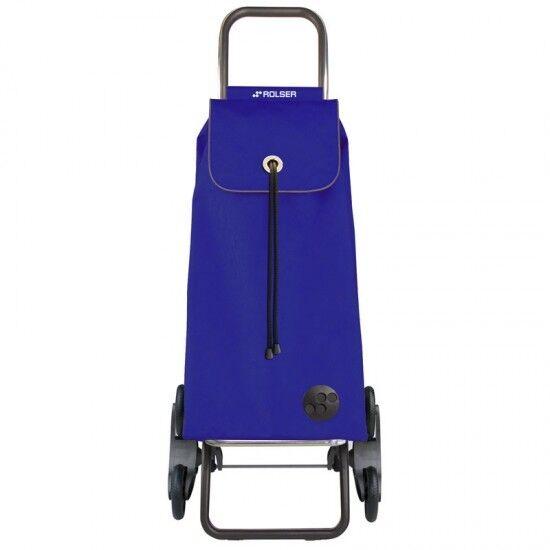 Carro de compra compras Rolser IMX003 RD6 sube escaleras color azul
