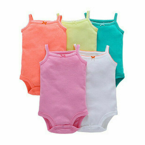 5Pc Newborn Baby Toddler Child Boy Girl Romper Jumpsuit Bodysuit Outfits Clothes