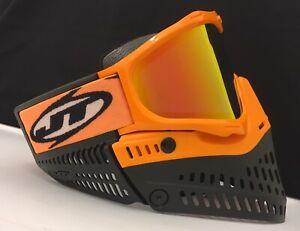 Acheter Pas Cher Nouveau Jt Proflex Paintball Goggle Masque Orange Noir Thermique Prism Lentille Km Sangle-afficher Le Titre D'origine