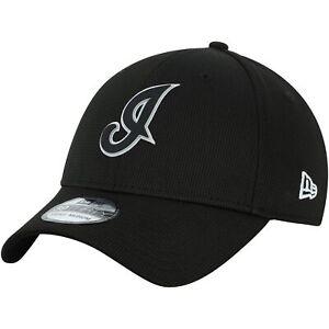 Cleveland-Indians-New-Era-Team-Clubhouse-39THIRTY-Flex-Hat-Black