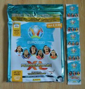 Panini-Adrenalyn-XL-Uefa-Euro-EM-2020-Starterpack-5-Booster-Trading-Cards