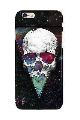 Skull Trippy Sky Metal Horror Art Phone Cover Case fits Apple iPhone Models
