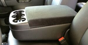 auto center armrest covers center console cover c2 dark gray ebay. Black Bedroom Furniture Sets. Home Design Ideas