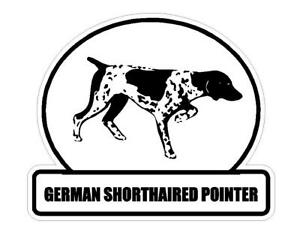 GSP Southern Point German Shorthair Pointer American Flag Window Decal Sticker
