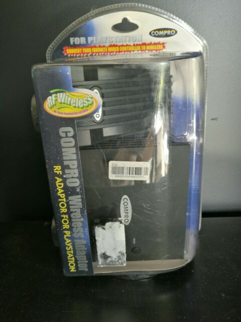 WIRELESS RF ADAPTOR FOR PLAYSTATION 1 - PS2 & PLAYSTATION ONE - BRAND NEW