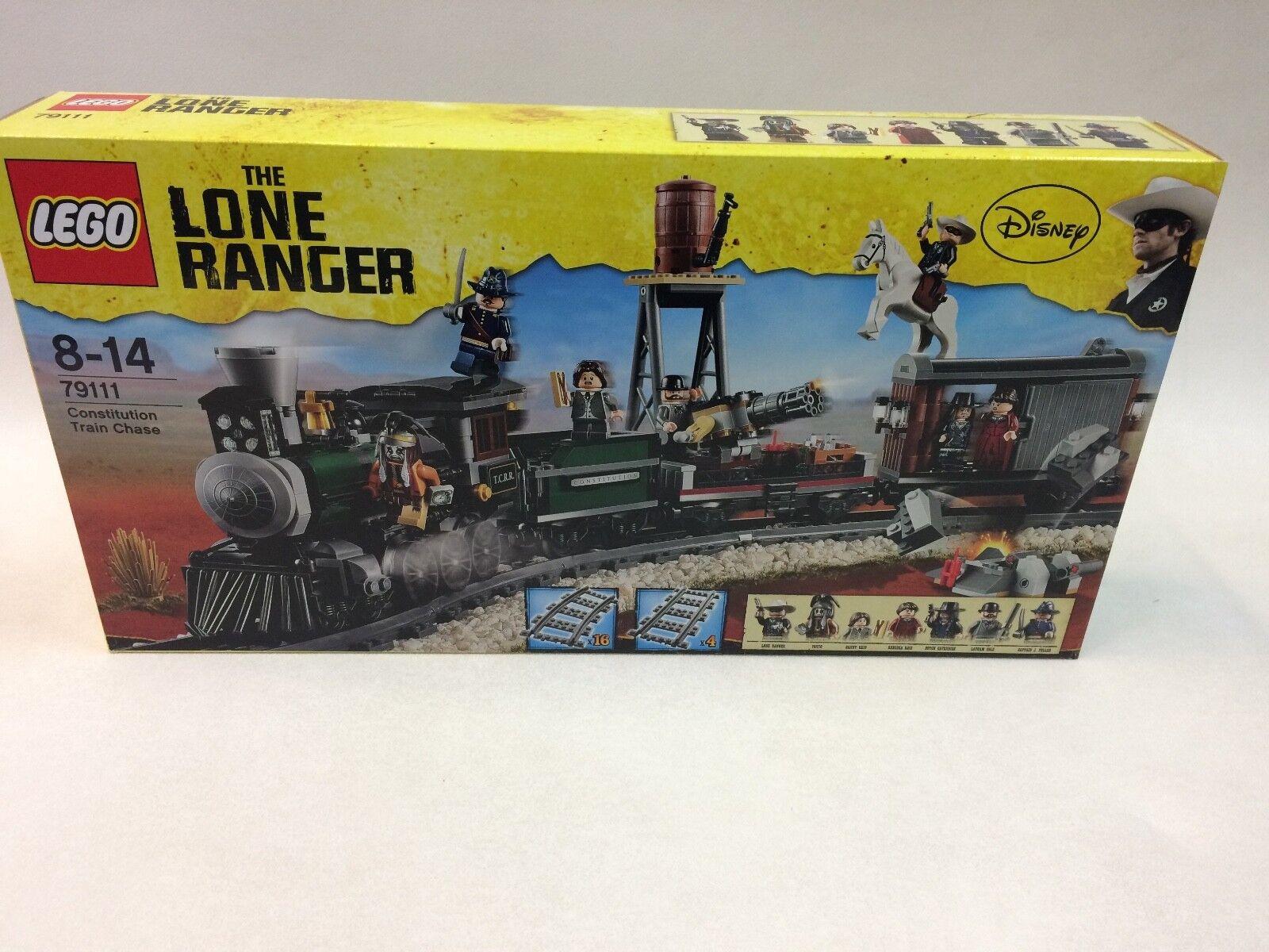 Nouvelle génération, nouveau choix NEUF Scellé Comme neuf condition LEGO 79111 Constitution Train Chase | La Mode