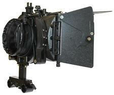 3x3 Matte Box Package with Flags and 15mm Front Bracket for DSLR
