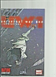 Universal-War-One-Limited-Mini-Series-Lot-of-3-Marvel-Comics-Mature-Content