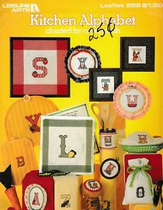 Kitchen-Alphabet-Charted-for-Cross-Stitch-Leisure-Arts-252