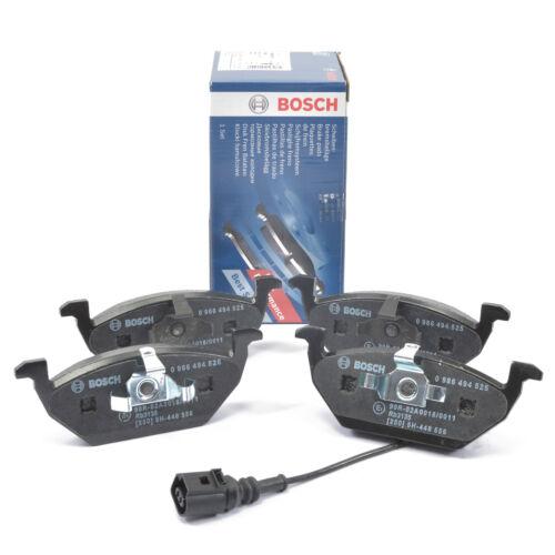 BOSCH Bremsbeläge mit Warnkontakt für Hinterachse 0986494140 Hyundai