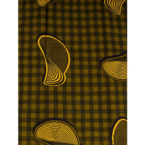 Africa Limp Circles Print Fabric BY 1//2 YARD CONTACT US IF TROUBLE ORDERING899