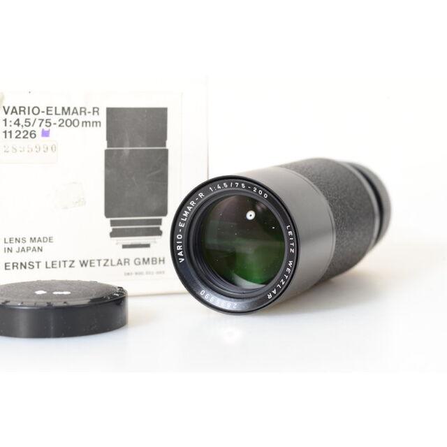Leica 11226 Vario-Elmar-R 4,5/75-200mm Tele Zoom für Leica R Kameras