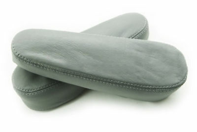 For 05-07 Toyota Sienna Slip-On Leather Seat Armrest Covers Gray