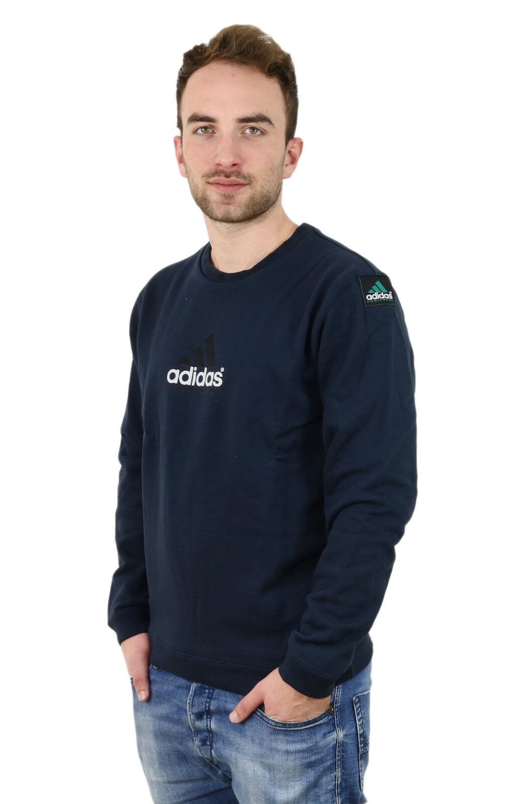 Adidas EQT Crew navy BK7666 - Pullover - Herren - dunkelblau +NEU+