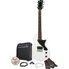 Maestro by Gibson - MELPWHCH - Single Cutaway Electric Guitar Kit, White