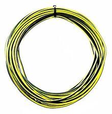 KFZ Kabel Litze Leitung FLRy 1,5mm² 10m Gelb / Schwarz Auto Pkw Lkw