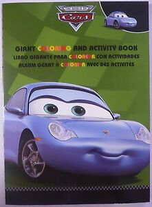 CARS-Sally-Carrera-Colouring-Activity-Book-96-Page-Genuine-Disney-Pixar-NEW