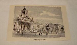 1887-Revista-Grabado-Colocar-Royal-Bruselas-Belgica