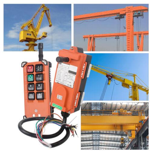 Transmitter Receiver Hoist Crane Radio Wireless Remote Control 12//24//36//220//380V