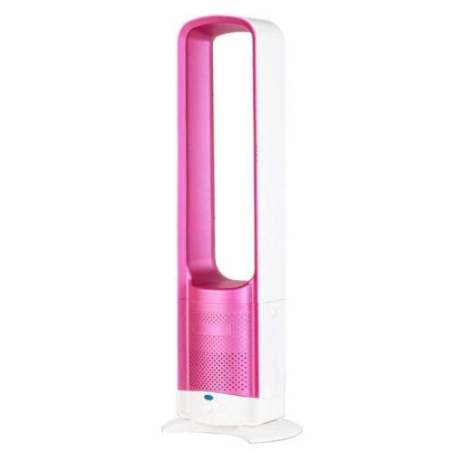 32 inch US Electric Bladeless Fan Home Mute Anion Cooling Fan Ventilator $S1