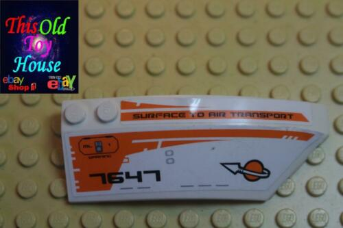 Lego 41749 RIGHT SHELL 3X8X2 W//BOW//ANGLE Part 41749 CHOICE OF COLOR Pre-owned