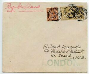 GREAT-BRITAIN-1919-Emergency-flight-Rail-Strike-Birmingham-London-Field-34