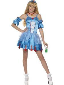 Halloween Princess Costume Age 10-12 Girls 146-152cm Prom Queen Wig Zombie