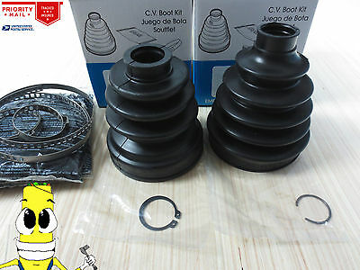 Front Inner & Outer CV Axle Boot Kit For Mitsubishi Eclipse w/ V6 2003-2005 FWD