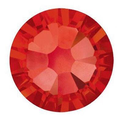 SWAROVSKI ELEMENTS Flat Back 2058 Foiled Glue Fix Sizes & Colors Rhinestones