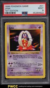 1999 Pokemon Base Set 1st Edition Jynx #31 PSA 9 MINT