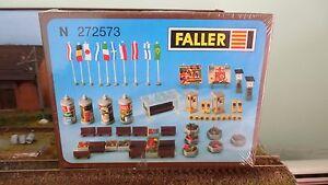 Faller 272573 Stadt-dekoration Décoration De Ville '