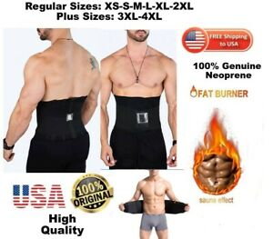 cf31be341c Neoprene Waist Belt Sweat Waist Trainer Trimmer Belt Body Shaper For ...