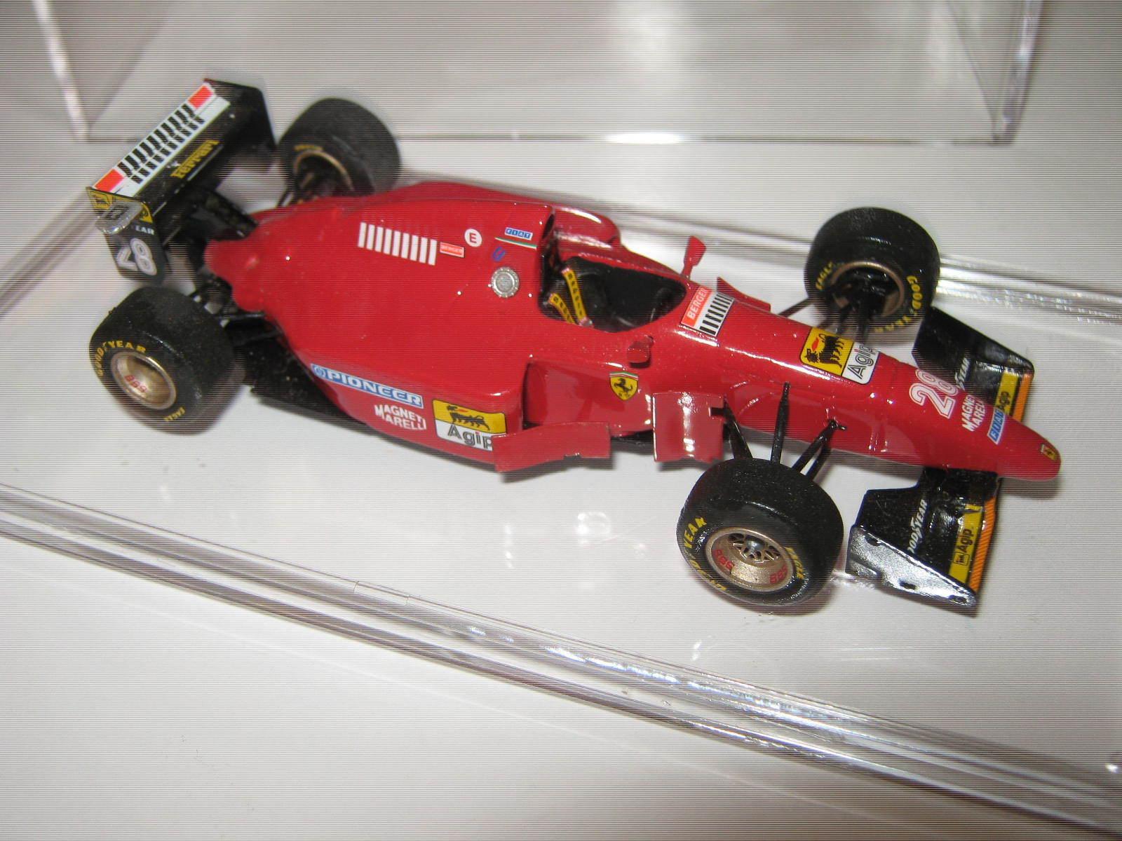 1 43 Ferrari 412 1b G. Berger 1994 TAMEO HANDBUILT Car in Showcase