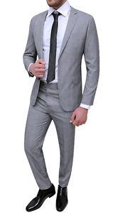 dove posso comprare qualità e quantità assicurate selezione straordinaria Full dress grey man Sartorial Fantasy Slim Fit Stylish 44 to 60 | eBay