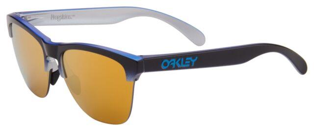 fefe16ebe3 Oakley Frogskins Lite Sunglasses Black Fade W  24k Iridium Lens for ...