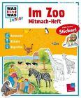 Mitmach-Heft Im Zoo von Tatjana Marti (2016, Taschenbuch)