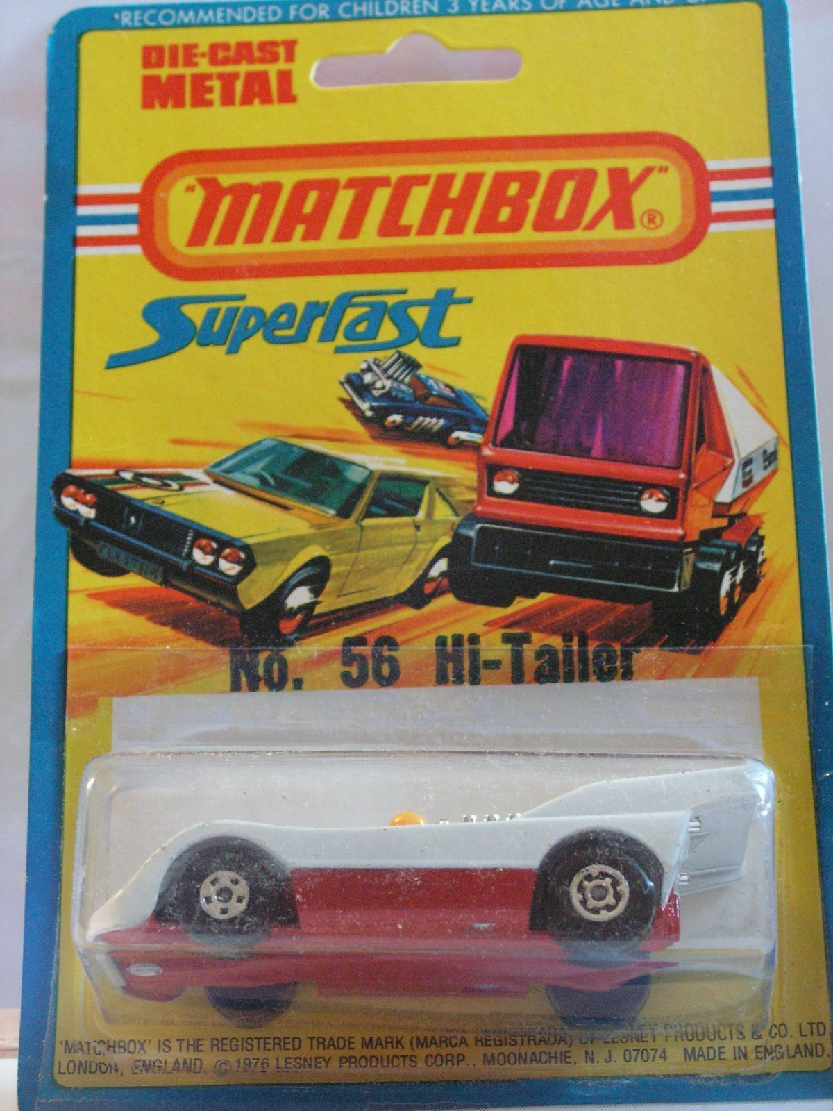 Matchbox hi tailer 56 mib new box super fast