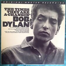 THE TIMES THEY ARE A-CHANGIN' BOB DYLAN IMPORTED MFSL MOBILE FIDELITY SOUND LAB