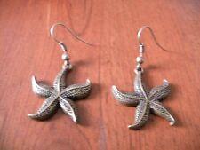 Boucles d'oreilles bronze étoile de mer 28x24mm