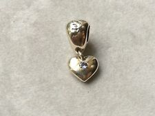 NOW 70% OFF! Lovelinks Bead Sterling Silver, Tanzanite December Heart Dangle