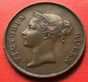 Straits-East-India-Company-Victoria-One-Cent-1845-1