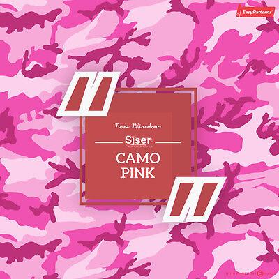 "SISER EasyPattern /""CHEVRON RED/"" Heat Transfer Vinyl 18/""x12/"" to 10yards"