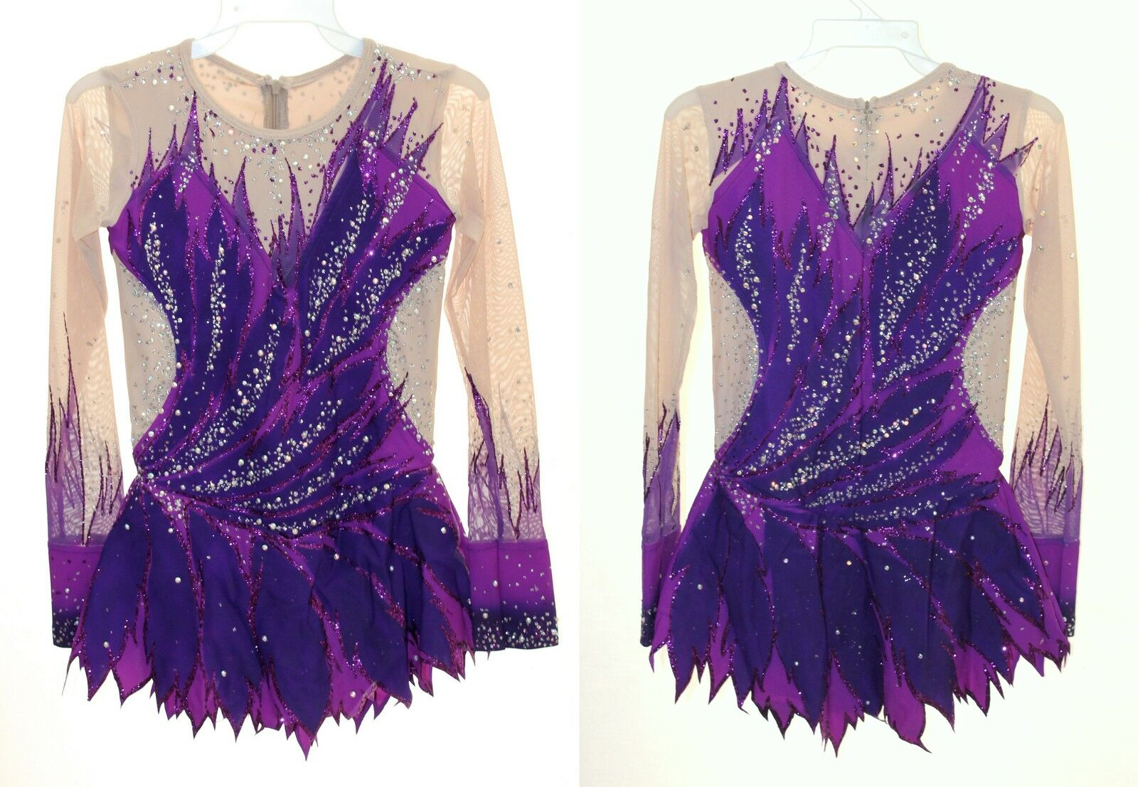 Rhythmic Gymnastics Leotard RG Acro Ice skating dress Tap  Costume Acrobatic  up to 60% discount