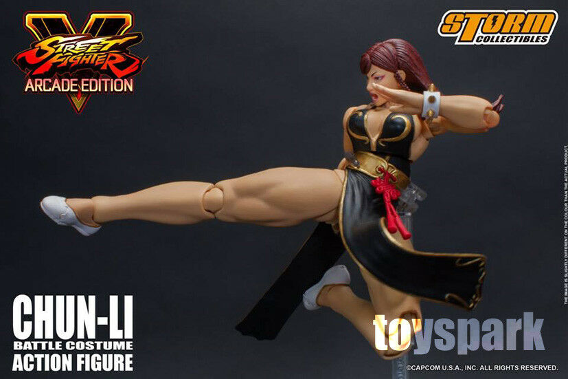 NYCC 2018 STORM STORM STORM COLLECTIBLES Street Fighter CHUN LI Battle Costume action figure 61e13e